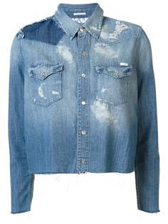 джинсовая рубашка 'All Broke Down' Mother