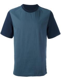 двухцветная футболка System Homme