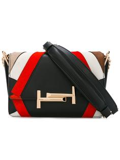 сумка на плечо с цепочной лямкой Tod's