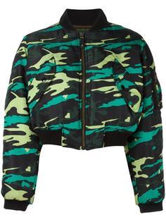 куртка-бомбер в стиле милитари Jean Paul Gaultier Vintage