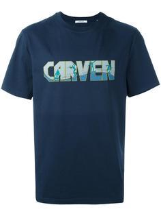 футболка с принтом-логотипом Carven