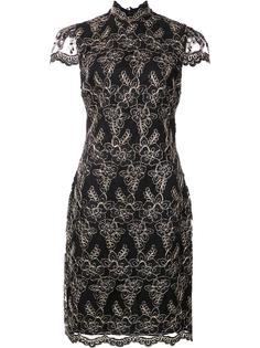 кружевное платье с цветочным узором Alice+Olivia