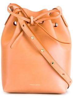 small bucket shoulder bag Mansur Gavriel
