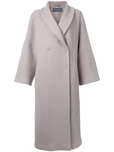 single breasted coat Alberta Ferretti