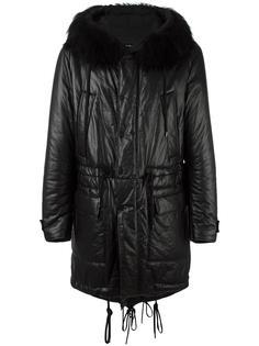 пальто с капюшоном Ahirain