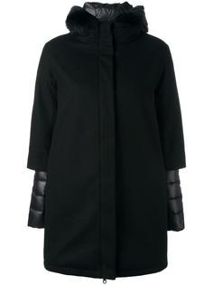 пуховое пальто с капюшоном Duvetica