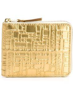 кошелек с тисненым узором Comme Des Garçons Wallet