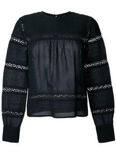 блузка с кружевными вставками Isabel Marant Étoile
