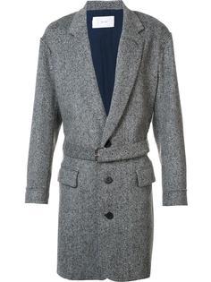 пальто с поясом Julien David