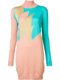 короткое вязаное платье Vionnet