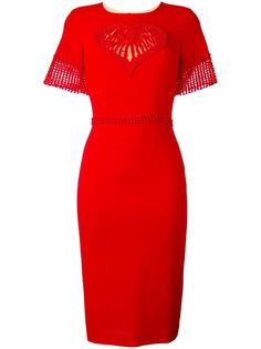 приталенное платье Piccione.Piccione