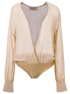 sheer bodysuit  Adriana Degreas