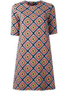 платье-футболка с геометрическим узором Ultràchic