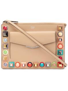 сумка через плечо с заклепками Fendi