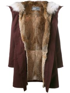 Classic Rabbit Fur-Lined Parka Yves Salomon