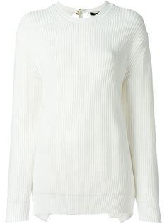 свитер с открытой спиной Alexander Wang