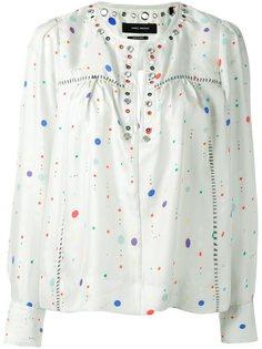 блузка с люверсами Isabel Marant
