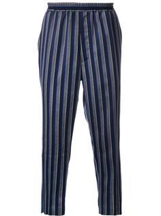 брюки в полоску 'Regimental' Cityshop