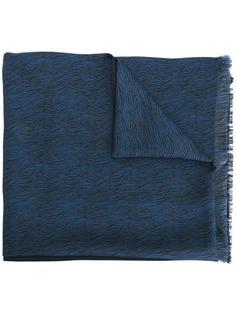 платок с зебровым узором Lanvin