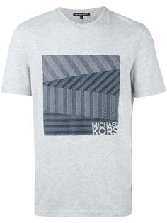 футболка с тиснением логотипа Michael Kors