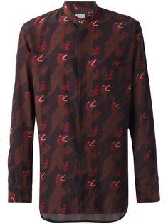 рубашка с принтом динозавров Paul Smith
