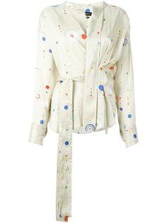 блузка 'Oliver' с геометрическим принтом  Isabel Marant