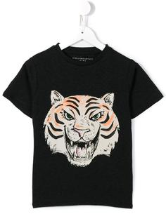 футболка 'Arrow Tiger Face'  Stella Mccartney Kids