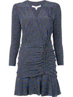 мини платье со сборками Veronica Beard