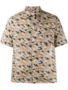 рубашка с принтом пальм Valentino