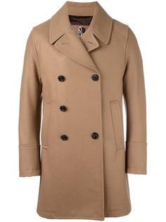 двубортное пальто с зазубренными лацканами Sealup