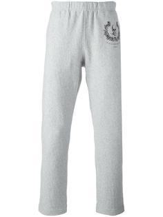 спортивные брюки с черепом Alexander McQueen