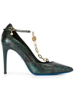 туфли с цепочной отделкой Loriblu