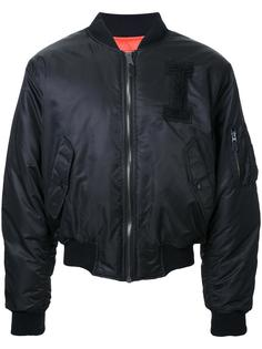 куртка-бомбер с логотипом-нашивкой Iceberg