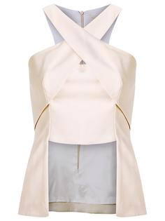 panelled blouse Giuliana Romanno