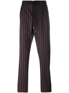 drawstring striped trousers Andrea Pompilio