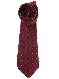 жаккардовый галстук Christian Dior Vintage