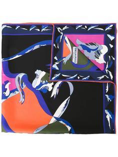 платок с узором Emilio Pucci