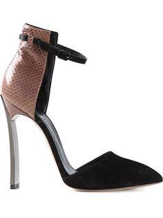 туфли с ремешком на щиколотке Casadei