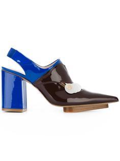 туфли-лодочки с открытой пяткой Delpozo