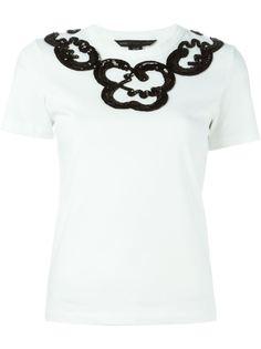 футболка с деталями из пайеток Marc By Marc Jacobs