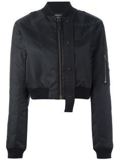 укороченная куртка-бомбер Anthony Vaccarello
