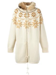 трикотажная куртка свободного кроя Jean Paul Gaultier Vintage