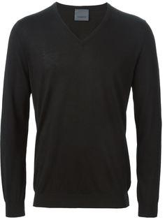 свитер c V-образным вырезом   Laneus