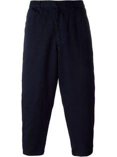 брюки с принтом 'Mind' Comme Des Garçons Shirt