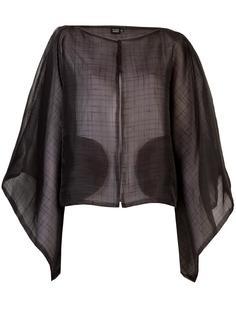textured kimono jacket Fernanda Yamamoto