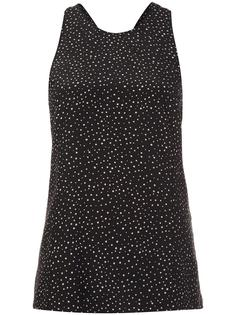 polka dot tank top Grey Jason Wu