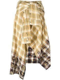 клетчатая юбка-рубашка Faith Connexion