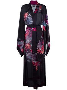 длинное кимоно с узором Carine Gilson