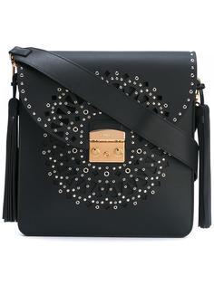 сумка на плечо с заклепками Furla
