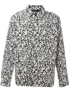 рубашка с пестрым принтом Christopher Kane